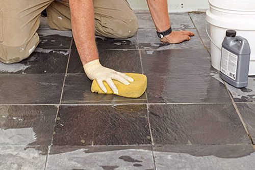 Light Natural Stone Floor Clean