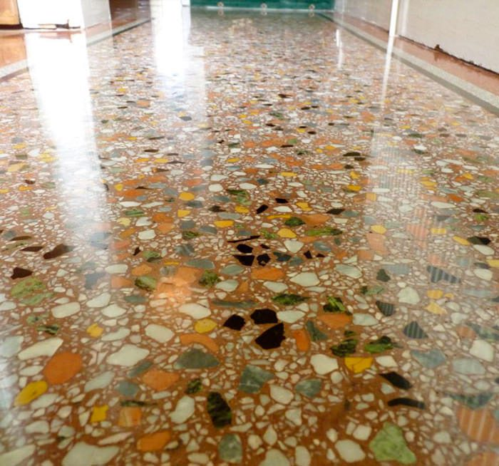 Terrazzo Floor Statewide Stone Care In Nyc